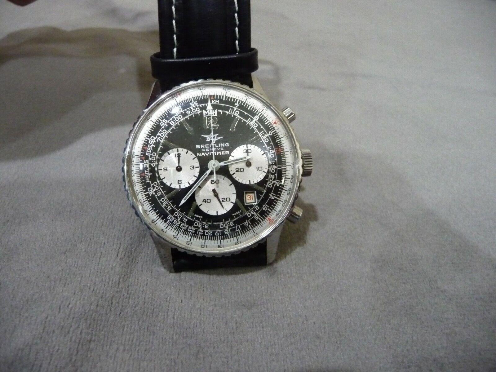 VINTAGE BREITLING NAVITIMER REF. 7806 ALL ORIGINAL SUPER NICE WATCH - watch picture 1