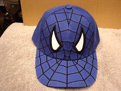 SPIDER WEB WITH EYES BASEBALL CAP ( BLUE )