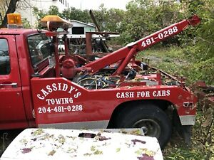 92 f-350 tow truck Holmes wrecker sling and winch only