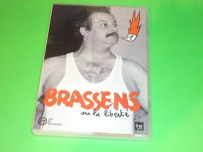 DVD   BRASSENS  ou la liberté     NEUF