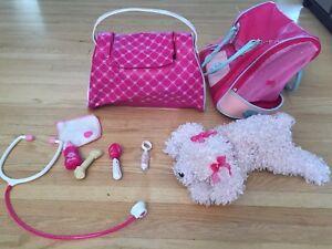Barbie interactive dog / vet toy