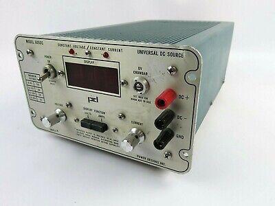 Power Designs Model 6050c 0-60v Dc Power Supply