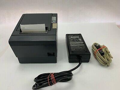 Epson Micros Tm-t88ii M129b Pos Thermal Receipt Printer W Parallel Port