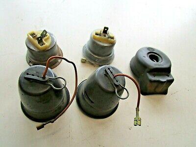 Lampe Abdeckung Set (Ford Capri Opel Manta Fassung Scheinwerfer Lampenfassung Abdeckung SET Hella)