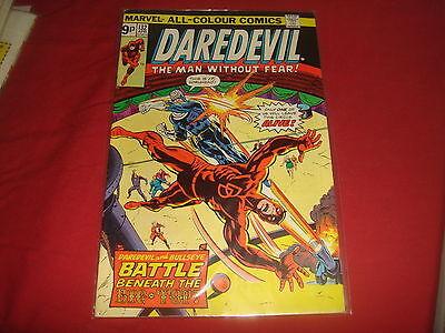 DAREDEVIL #132  2nd Bullseye  Marvel Comics 1976   VF-