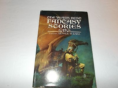 The Years Best Fantasy Stories By Tanith Lee  Nancy Kress Hc Used Sfbc Edition