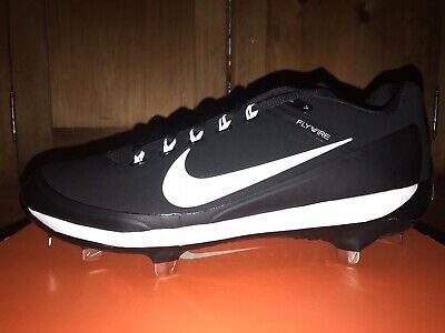 premium selection 7aa9b 6af26 NEW Nike Air Clipper 17 METAL Baseball Cleats Black White MENS Size 10  DEADSTOCK