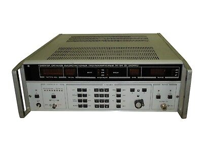 0.1 Mhz-639.999mhz G4-164 High Frequency Signal Generator An-g Rohde Schwarts