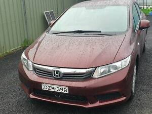 2012 Honda Civic Yass Yass Valley Preview