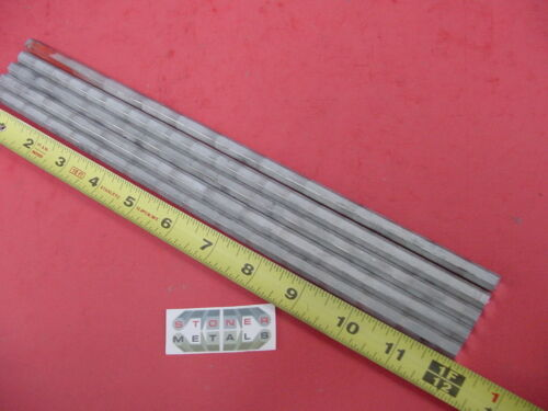 "5 Pieces HEX 5/16"" ALUMINUM 2024 Hex BAR 12"" long T4 SOLID LATHE STOCK .312"""