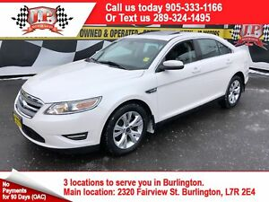2011 Ford Taurus SEL, Automatic, Leather, Sunroof, 66, 000km