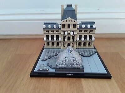 Lego Architecture 21024, The Louvre complete and in excellent condition
