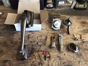 Schlage front door assembly