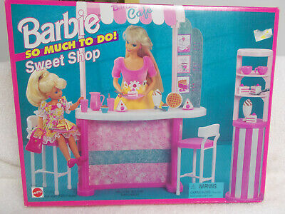 "Barbie ""So Much To Do"" 1995 Sweet Shop Set - NRFB"