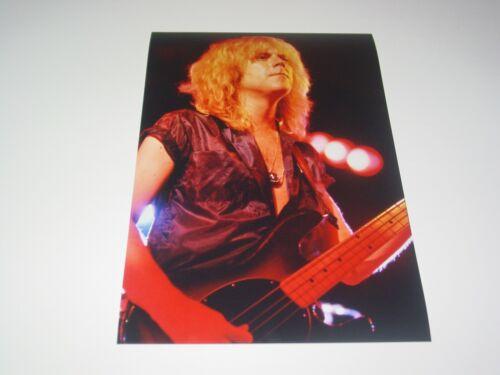 Aerosmith 8X12 Photo Tom Hamilton Rare Live Concert Draw the Line Tour 1977 #2