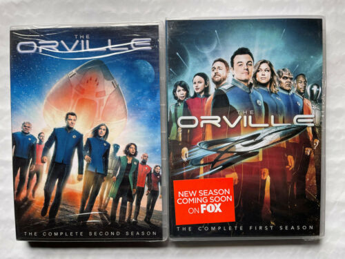 The Orville Seasons 1 and 2 DVD Bundle Brand New Sealed