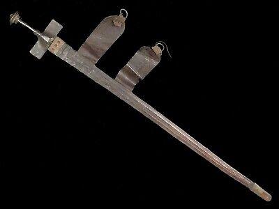 North African Tuareg Takcouba Sword with Scabbard 19th Century