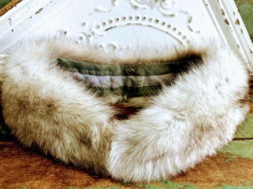 Vintage Silver Fox fur collar