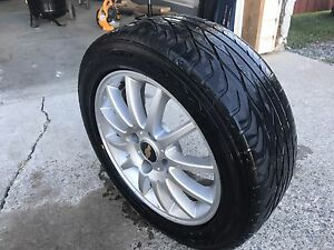 Chevy Optra rims and all season tires