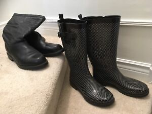 Women's boots, size US 9