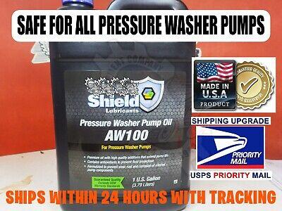 1 Gallon Universal Pressure Washer Pump Oil Aw100 Cat General Comet Annovi