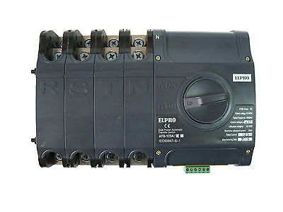 4PRO ATS-125A, 50-60Hz Automatic Changeover Transfer Switch