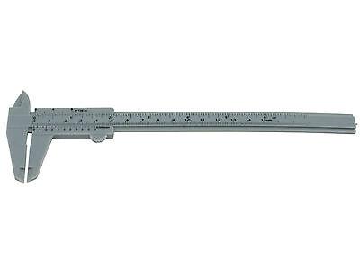 "6"" 150mm Plastic Sliding Caliper Vernier Measuring Gauge Depth Height Tool NEW"