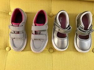 Girl shoes size 8,5 and 9,5  keds and Sperry. Clothing lot