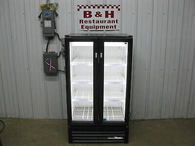 True Gdm-30-hc-ld Glass Door Merchandiser Refrigerator Beverage Cooler 2017 Mod