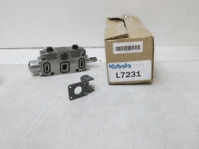 Kubota L7231 Spring Center Valve Genuine Oem Kubota New Free Shipping