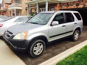 2002 HONDA CRV ALL WHEEL DRIVE MINT CONDITION $1500 firm