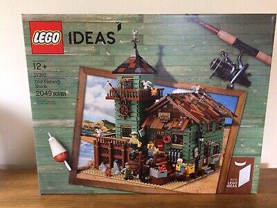 LEGO Ideas Old Fishing Store - set 21310 - New & Sealed