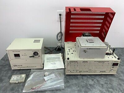 Sri Instruments Gas Chromatograph 8610c W Fid Detector And H2-40 Hydrogen Gen