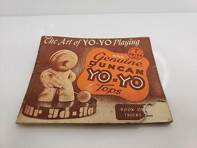 Vintage 1950 Duncan Yo-Yo Book Of Tricks USA