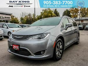 2018 Chrysler Pacifica LIMITED, POWER LIFTGATE AND DOORS, 360 CA
