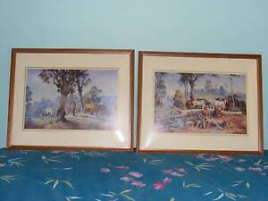d'Arcy Doyle prints in frame x 2-- $40.00 ea Gelorup Capel Area Preview