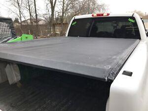 Roll up truck tonneau cover
