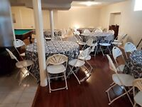 Party & Tent Rentals: Chairs, Tables, Tents