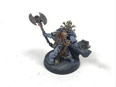 Wolf Lord Krom Painted Space Wolves Warhammer 40k Games Workshop A1