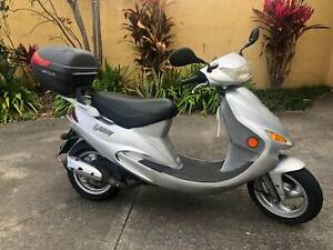 2011 KYMCO VIBE 50 SCOOTER