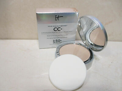 IT COSMETICS YOUR SKIN BUT BETTER CC+ PERFECTING POWDER MEDIUM 0.33 OZ