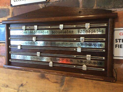 BCE SNOOKER BOARD SCOREBOARD 70x37 CM