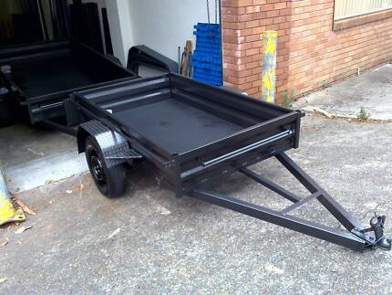 7x5 heavy duty trailer 1 year private rego Mortdale Hurstville Area Preview