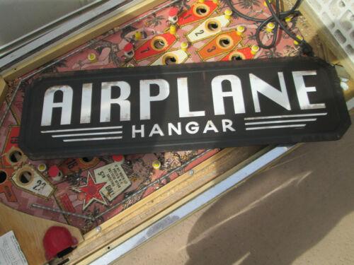 """AIRPLANE HANGAR FLYING  Aviation Metal Sign ALPHA BRAVO Hanger ManCave LARGE 30"""""""