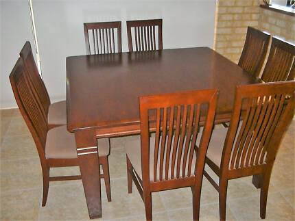Dining Suite 1500 X With 8 Matching Chairs