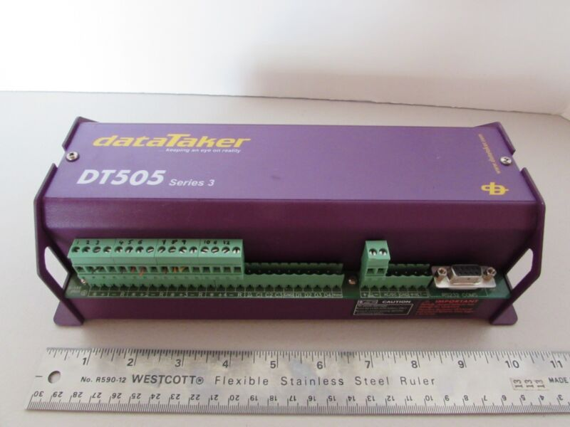DataTaker DT505 Series 3 Intelligent Industrial Data Logger Australia