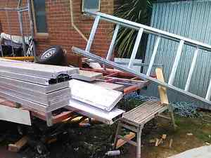 Aluminum a-frame trestles and planks!!! Campbellfield Hume Area Preview