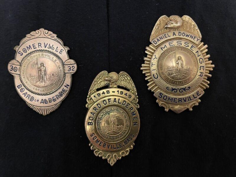 Somerville Political Badges