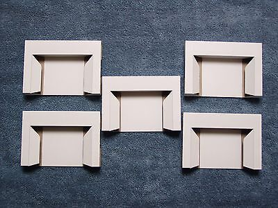 (5) Game Holders New remakes for SNES Super Nintendo cardboard inserts
