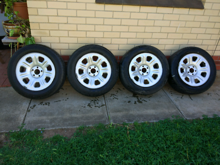 Set of Ford Territory rims
